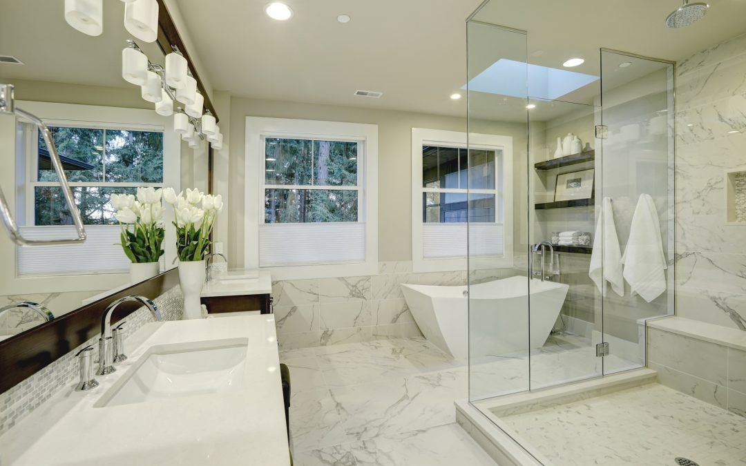 Redesigning To Help Make Your Bathroom Appear Larger Free Time Trains - Redesigning a bathroom