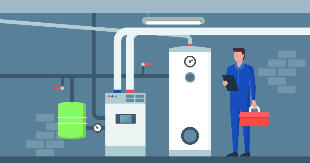 furnace-heating